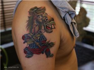 马师傅纹身图案