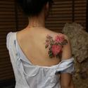 纹身后大约1-2周颜色变浅了是纹身掉色了么?