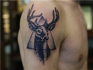 梅花鹿纹身图案