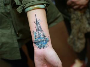 船纹身图案
